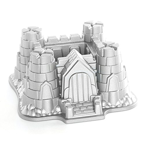Nordic Ware Pro Cast Castle Bundt Pan]()