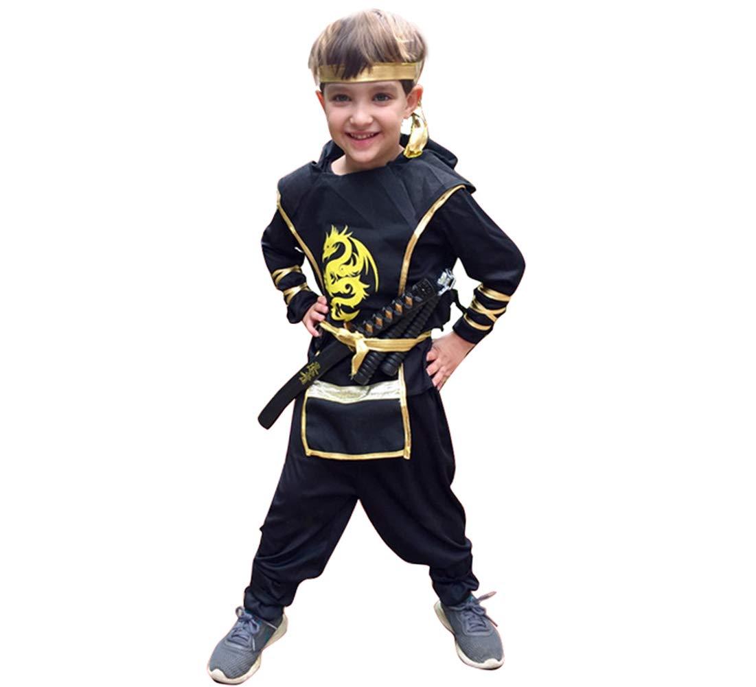 Jcyanz Anime japonés de Cosplay Ninja Boy Traje de Halloween ...
