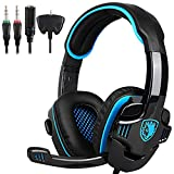 SADES Gaming Headset Headphone for