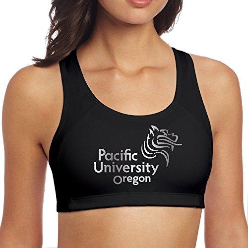 Women's Pacific Boxers Platinum Logo Seamless Racerback Sport Bra