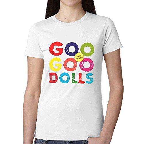 The Goo Goo Dolls Goo Goo Dolls Women T Shirts White