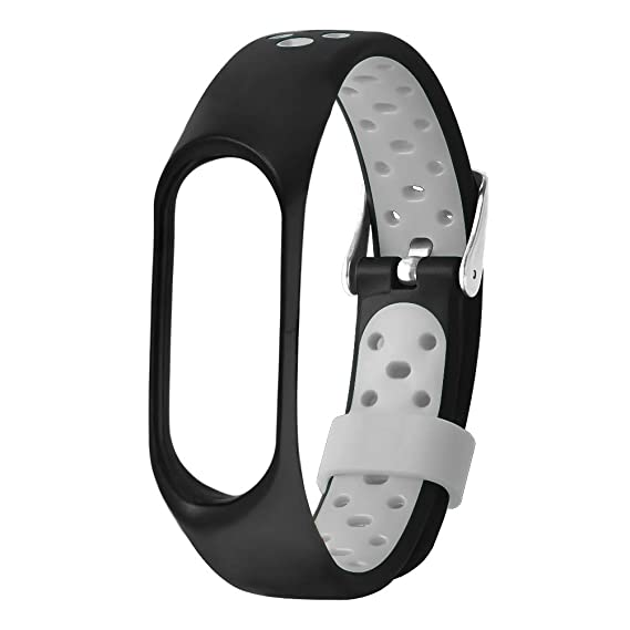Amazon.com: Huamecl for Xiaomi Mi Band 3 Straps Bands,Soft ...