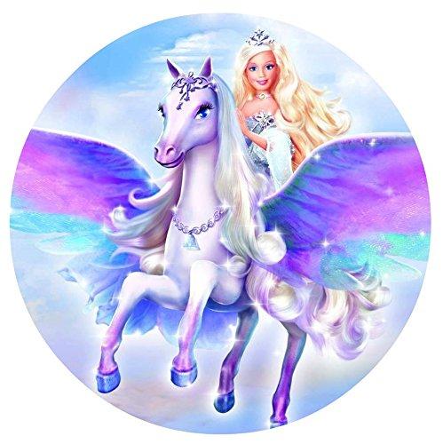 Barbie Magia de Pegasus imagen comestible decoración para ...