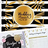 """Planning The Wedding Of My Dreams, A Complete 80-Pages Hardcover Checklist Planner To Guide You Through Every Step Of Organizing The Perfect Wedding, From """"Before I Do"""" To Planning Your Honeymoon!"""