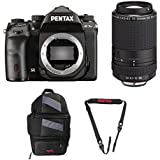 Pentax K-1 Mark II with Lens Kit (with 55-300mm Lens) + Pentax 85231 Sling Bag 2 & Pentax 85232 Padded DSLR Strap
