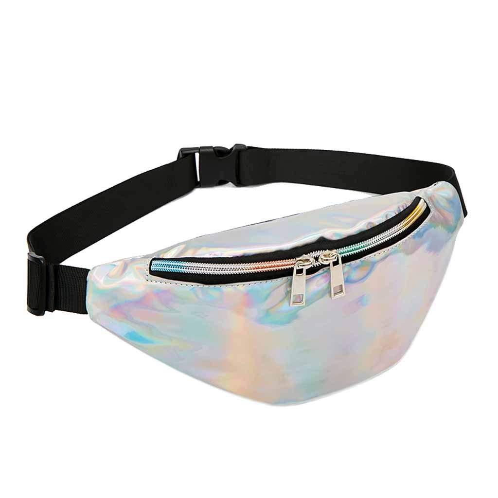 DENER❤️ Women Ladies Girls Glitter Chest Waist Bags,Travel Shoulder Crossbody Bag Designer Bags Side Bags Work Bags
