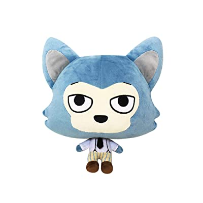futurecos BEASTARS Legosi Plush Figure Toys Anime Plushies Cute Wolf Legosi Stuffed Figure Doll Toy Animal Gift for Girls Boys: Toys & Games