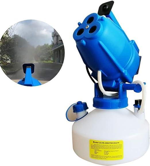 Eléctrico ULV nebulizador pulverizador fría Nebulización 4L Ultra Bajo Volumen nebulizador Esterilizador for Interior/Exterior Higiene ZHW345: Amazon.es: Jardín