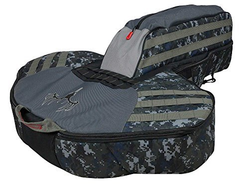 - Killer Instinct Narrow Limb Crossbow Case - Heavily Padded Soft Crossbow Case with Dual Shoulder Straps - Fits Most Compact Crossbows
