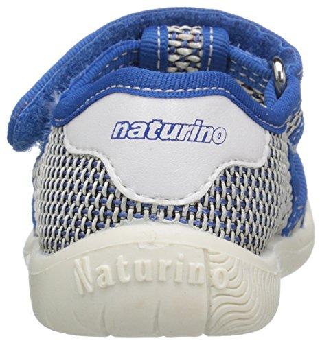 Naturino 7785 SS16 L Fisherman Sandal (Toddler/Little Kid), Blue/White, 20 EU(5.5 M US Toddler)