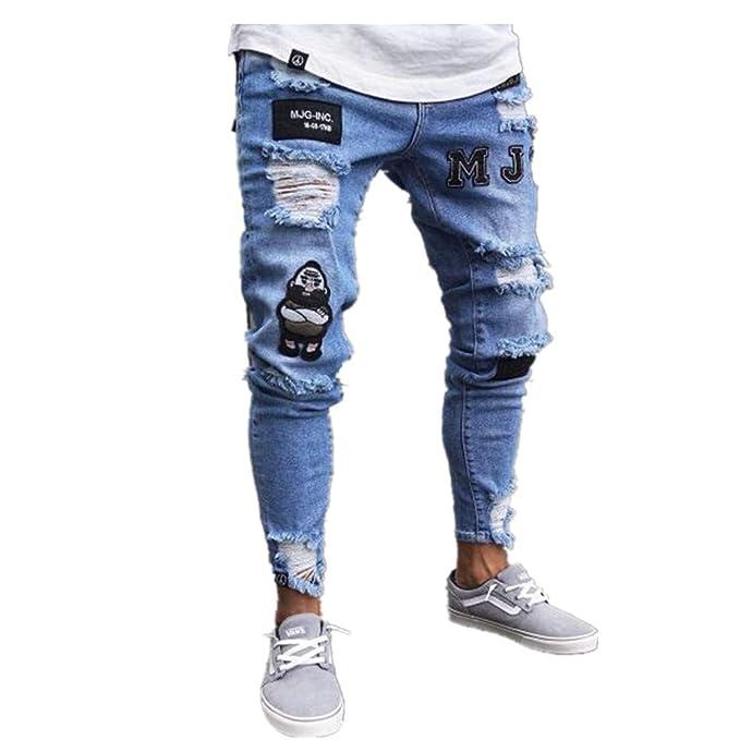 Pantalones vaqueros hombre