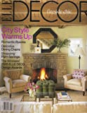 Elle Décor Magazine, US Edition, November 2005 No. 121. Fireside Chic; City Style Warms Up; Romantic Rooms; Delicious Dining Chairs; Shopping Palm Springs; The Winners!: 2005 Elle Deco Design Awards