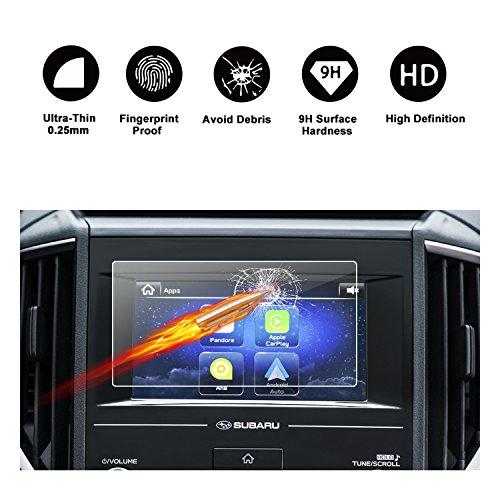 2018 Subaru Crosstrek Starlink Display Touch Screen Car Display Navigation Screen Protector, HD Clear Tempered Glass Car in-Dash Screen Protective Film (2018 Subaru Crosstrek 6.5In)