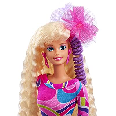Barbie Totally Hair 25th Anniversary Doll: Toys & Games