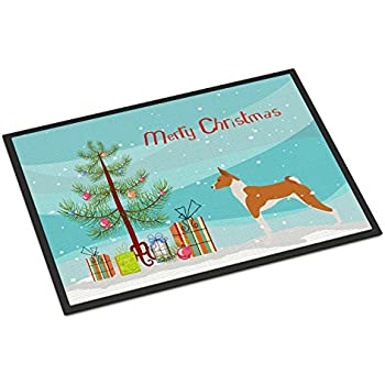 24H X 36W Carolines Treasures VHA3016JMAT Merry Christmas Santa Claus Ho Ho Ho Indoor or Outdoor Mat 24x36 Multicolor Caroline/'s Treasures VHA3016JMAT Merry Christmas Santa Claus Ho Ho Ho Indoor or Outdoor Mat 24x36