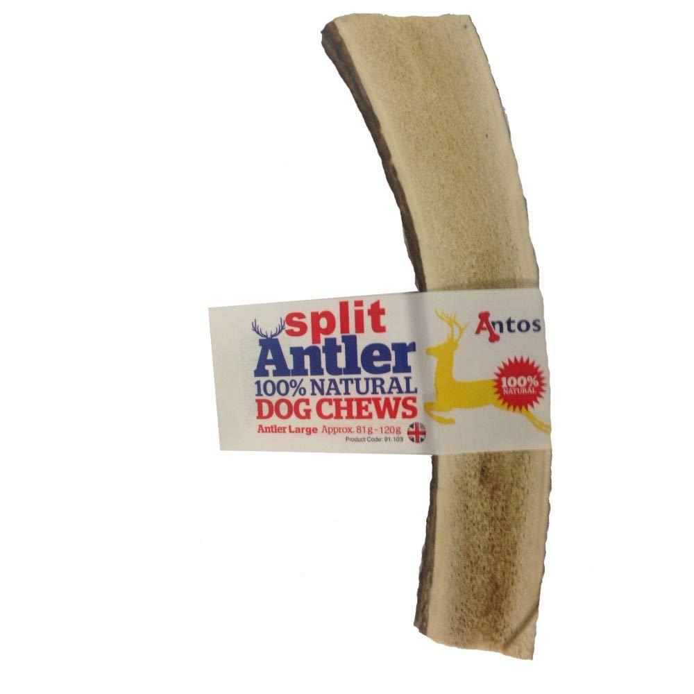 Antos - Masticador de Perro 100% Natural, hipoalergénico, para Masticar como Stagbar (Peso pequeño, 30 - 50 g), Puede Variar: Amazon.es: Productos para ...