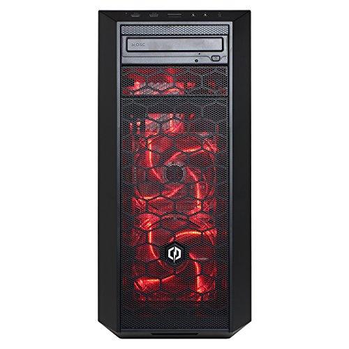 CYBERPOWERPC Gamer Xtreme VR Ready GXiVR8020A3 Desktop Gaming PC (Intel Quad Core i5-7400 3.0GHz, AMD RX 580 4GB Graphics, 8GB DDR4 RAM, 1TB 7200RPM HDD, 802.11AC WIFI, Win 10 Home), Black