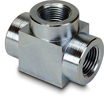 "Enerpac FZ-1612 3/8""-NPTF High-Pressure Tee Fitting"