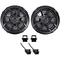 2000-13 Chevrolet Chevy Impala 6.5 Kicker Front Factory Speaker Replacement Kit