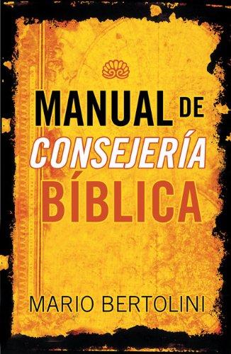 Manual de consejería bíblica (Spanish Edition) by Brand: Peniel
