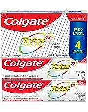 Colgate - Creme Dental Colgate Total 12 Clean Mint 90G Promo Leve 4 Pague 3