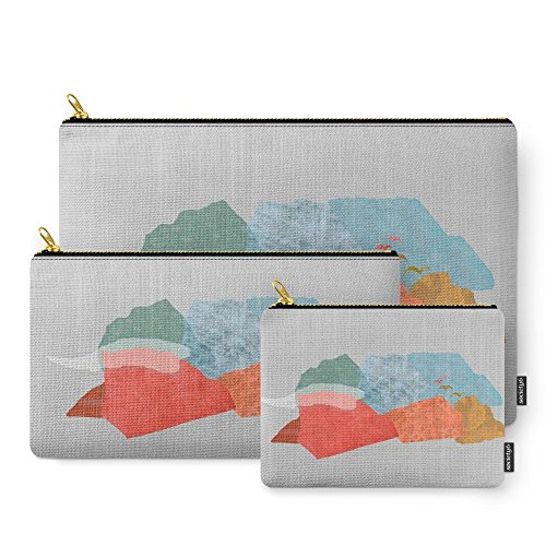 Society6 Birds Fly Away Carry-All Pouch Set of 3