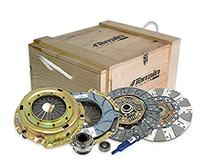 Land Cruiser Clutch 4TU1710N 4Terrain Ultimate Premium Kit with ER2 Heavy Duty Cover Assembly | Dual