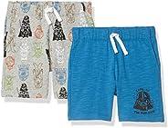 Amazon Brand - Spotted Zebra Boy's Disney Star Wars Marvel Knit Jersey Play Sh