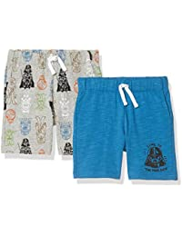Amazon Brand - Spotted Zebra Boy's Disney Star Wars Marvel Knit Jersey Play Shorts