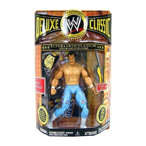 WWE Wrestling Deluxe Classic Series 4 - HONKY TONK MAN toys [ parallel import goods ]