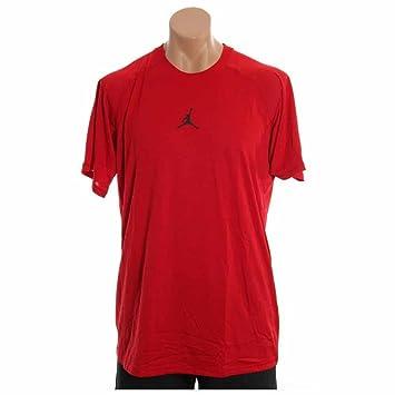 6a02d2e8cba Jordan Dri-fit Dominate Fitted Men's Training T-shirt Style: 465072-695  Size: L: Amazon.co.uk: Sports & Outdoors