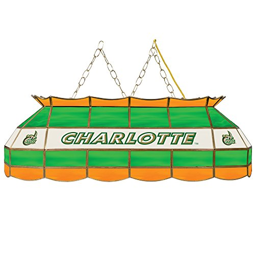 - NCAA North Carolina Charlotte Stained Glass 40 In Tiffany Lamp