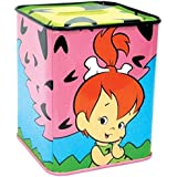 The Flintstones Little Pebbles Smiling and Holding Cheek Tin Bank