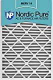 Nordic Pure 20x30x2M14-3 Pleated AC Furnace Air Filter, Box of 3
