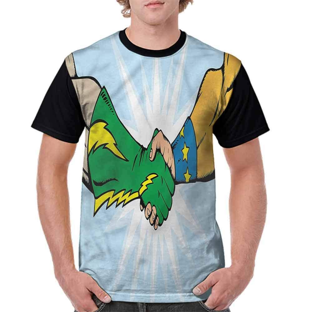 Vintage T-Shirt,Togetherness Trust Team Fashion Personality Customization