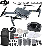 Review of DJI Mavic Pro Collapsible Quadcopter Drone Ultimate Backpack Bundle with Remote Controller, Intelligent Flight Battery, 8330 Folding Propellers, Gimbal Clamp, Charger, 16GB microSD Card + More