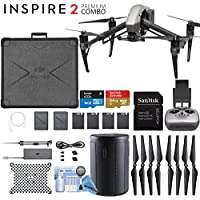 DJI INSPIRE 2 Quadcopter Drone Upgrade Bundle