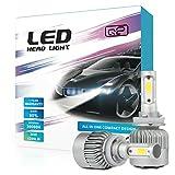 HID-Warehouse S2 72W 8,000LM - H11 LED Headlight Conversion Kit - 6500K COB LED - 2017 Model