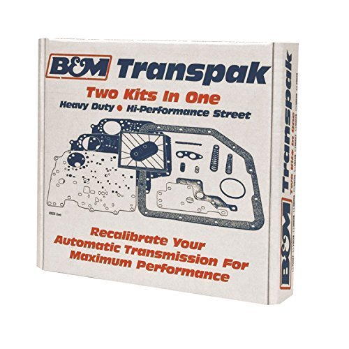 B&M 50229 Transpak Automatic Transmission Recalibration Kit by B&M (Transmission Automatic Transpak)