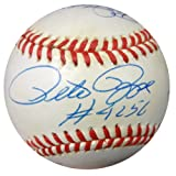 3000 Hit Signed National League Baseball With 7