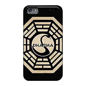 DeanHubley Apple Iphone 6 Excellent Hard Cell-phone Cases Custom High Resolution The Dharma Initiative Skin [aRk366EcZs]