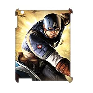 C-EUR Captain America Pattern 3D Case for iPad 2,3,4 by icecream design