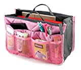 Item Description: Taking your stuff with you on-the-go has never been easier. This organizer bag has 13 small to large compartments/pouches you can store your things, with two zipper pouces for your important things. You can you use to store...
