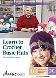 Learn to Crochet Basic Hats Class DVD