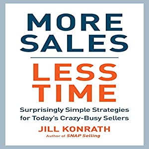 More Sales, Less Time Audiobook