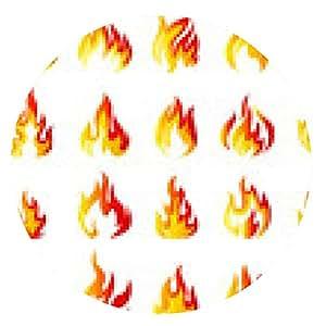 alfombrilla de ratón Iconos del fuego fijados para que el diseño - ronda - 20cm