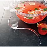 Party Tray Black Punch Ladle, 50 Ounce -- 48 per case.