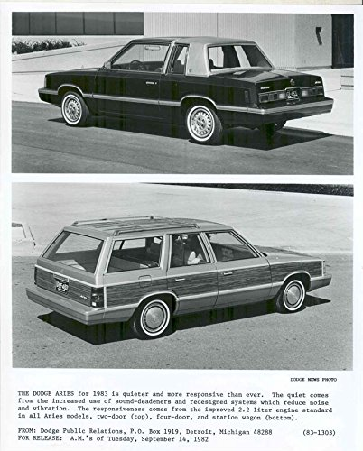 1983 Dodge Aries Station Wagon Factory Photo