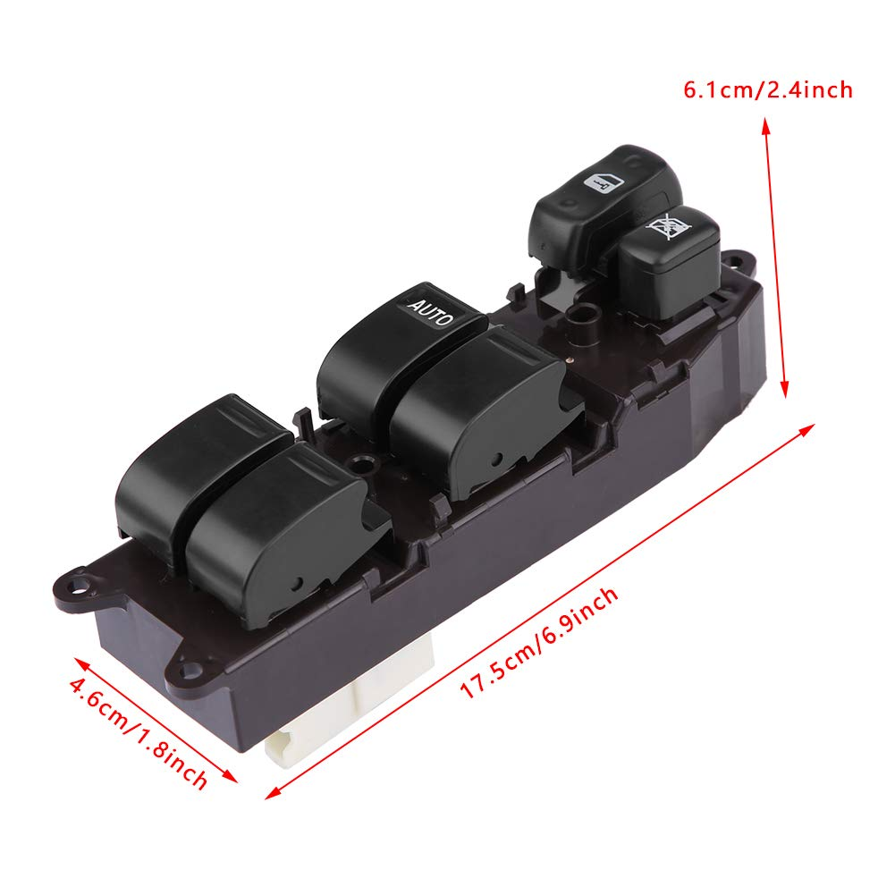 Interruptor elevalunas elevar//bajar la ventana 84820-60130 Bot/ón de ventana el/éctricos