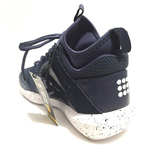 Drunknmunky Sneakers alte scarpe uomo navy DENVER CHROME 400 43